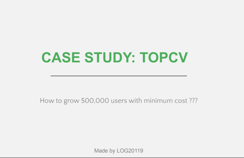 TopCV case study